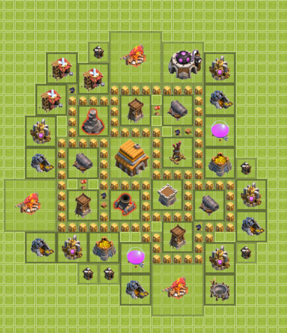 1000+ Images About Clash Of Clan Base Layouts And Ideas On